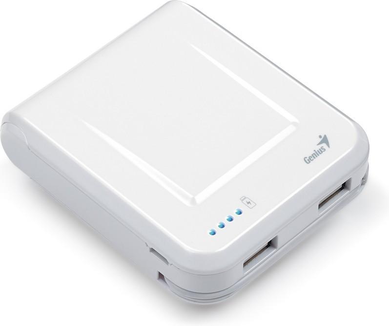 Зарядное устройство для телефона Genius ECO-U700 White 39800002102