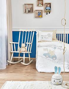 Детский набор в кроватку для младенцев Karaca Home - Champion 2019-2 (10 предметов)