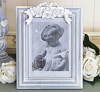 Фоторамка серая с лепным декором Гранд Презент 258059, фото 1