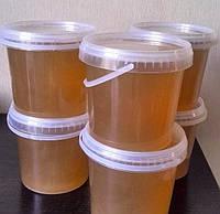 Мед домашний Разнотравье с подсолнухом 1 л. (1,4 кг.)