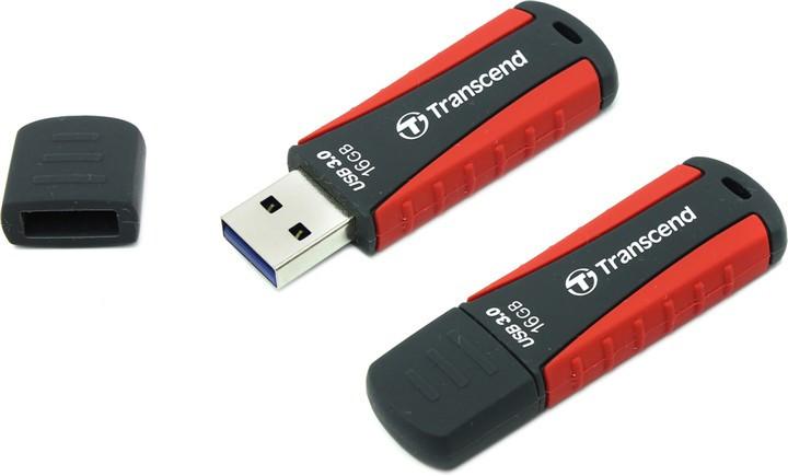 Flash карта USB 16GB Transcend JetFlash 810 Red (TS16GJF810)