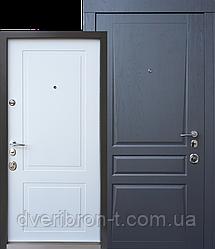 Авангард Трино 850/950 дуб графит-белый супермат