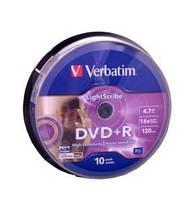 Диски Verbatim DVD-RW 4.7Gb Silver