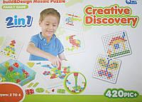 Мозайка с отверткой 420 элементов