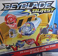 BEYBLADE (Бейблейд) с двумя пусковыми устройствами и ареной