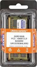 Оперативная память SO-DIMM 8GB Goodram GR1333S364L9 / 8G
