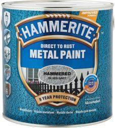 """Эмаль антикоррозийная по металлу с молотковым эффектом ТМ """"Hammerite"""" - 0,75 кг., фото 2"""