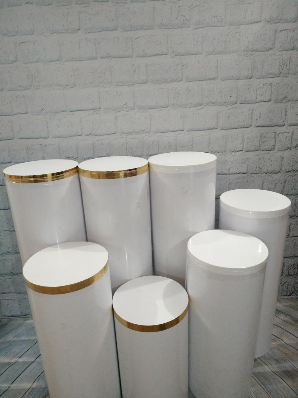 Тубус,колона для кенди бара  70 см - Высота, 30 см - Диаметр