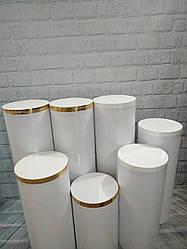 Тубус,колона для кенди бара  65 см - Высота, 30 см - Диаметр