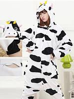Пижама кигуруми Взрослые и Детские Корова
