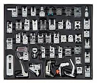 Функциональный набор 48 эл к швейным машинам