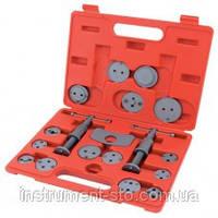 Комплект для обслуживания тормозных цилиндров 18 ед. (два винта) JGAI1801 (Toptul, Тайвань)