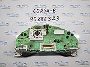 Панель приборов Опель Корса Б, opel Corsa B 90386323 на запчасти