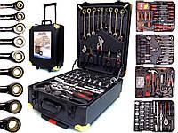 Чемодан с инструментами 188 элементов AL-FA