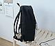 Рюкзак Городской сова черный, фото 2