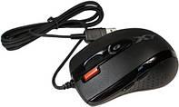 Мышка A4 Tech XL-750MK Black USB