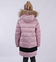 """Напівпальто зимове для дівчинки """"Джемма, LUSIMING, China, фото 3"""