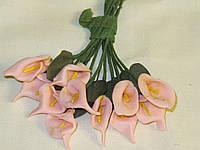 Цветочки Калла  2,5см (12шт), фото 1