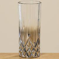 Стакан Медисон серебрянное стекло h15см Гранд Презент 1008756