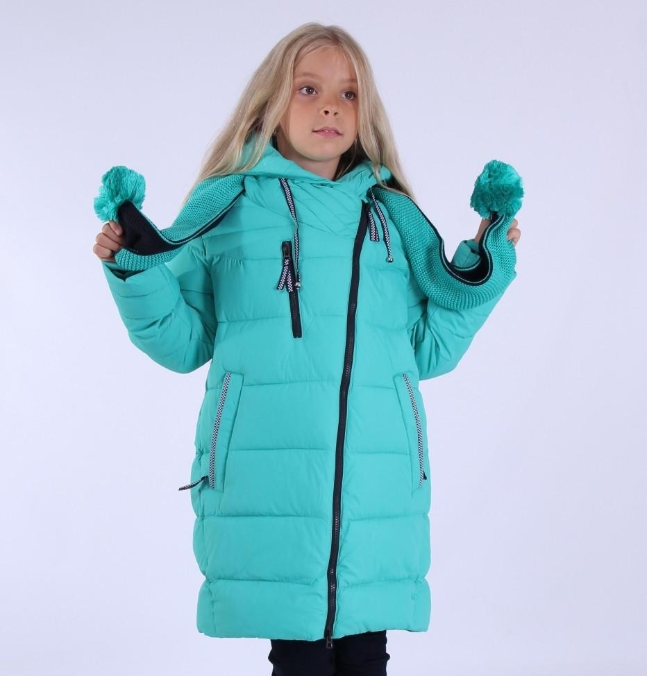 """Пальто зимнее для девочки """"Эмели"""" ,PUROS PORO, China"""