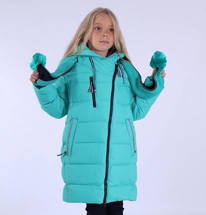 """Пальто зимнее для девочки """"Эмели"""" ,PUROS PORO, China, фото 2"""