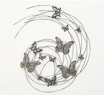 Настенный декор Бабочки h98см Гранд Презент 4463800