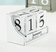Настольный вечный календарь МДФ 17x11x9см Гранд Презент 8417700