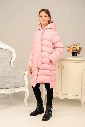 Стильное зимнее пальто на девочку «Даяна», фото 2