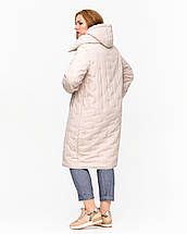 Женская зимняя  куртка батал  - М4079, 48-60р, фото 2