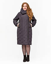 Женская зимняя  куртка батал  - М4079, 48-60р, фото 3