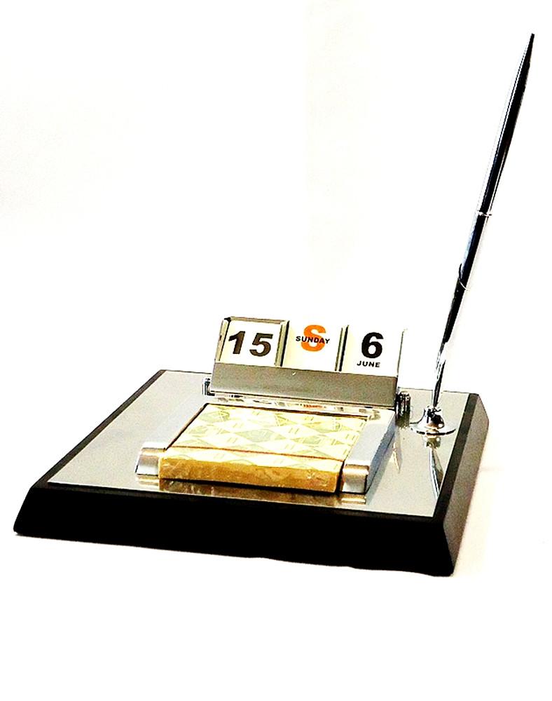 Офисный настольный набор с календарем-Аскет SS08051 SS08051 SS08051