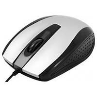 Мышка Defender Optimum MM-140 S Black/Silver USB (52140)