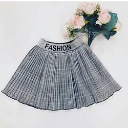 Стильная плиссированная юбка для девочки