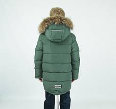 """Зимняя удлиненная парка для мальчика """"Гуерино"""" DONILO, CHINA, фото 2"""