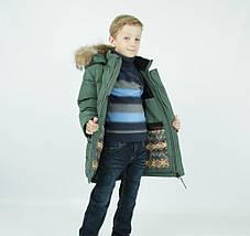 """Зимняя удлиненная парка для мальчика """"Гуерино"""" DONILO, CHINA, фото 3"""