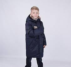 """Зимова подовжена парку для хлопчика """"Маріус"""" KIKO, CHINA, фото 3"""