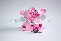 Сувенир статуетка мышки с сердечком