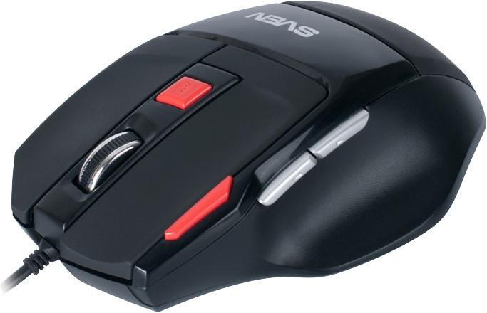 Мышка Sven GX-970 Gaming Black USB