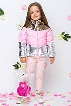 Весенняя куртка для девочки VKD-11 р.110, фото 2