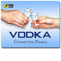 Коврик для мышки Pod Myshkou Vodka Color
