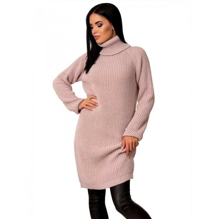 Вязаное платье 44-48 размер