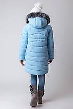 Зимнее пальто для девочки zkd-4 (122-164р) , фото 3