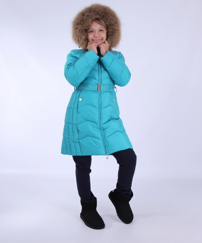 Пальто зимнее для девочки Snow Image, China 110,116,122р