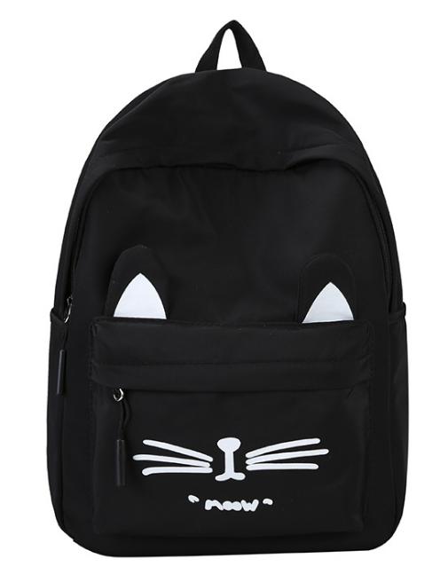 Молодежный рюкзак Moow  черный