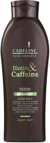 Careline Шампунь для тонких и жирных волос с биотином и кофеином, 600 мл, арт 355673.