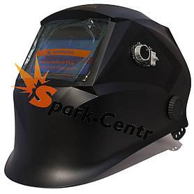 Сварочная маска хамелеон SUN 7B Black (4 сенсора)