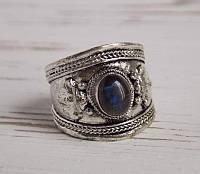 Перстень  с лабрадором(№6) ручной работы. Кольцо с лабрадором
