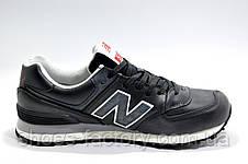 Мужские кроссовки в стиле New Balance 574 Premium, Натуральная Кожа, фото 3