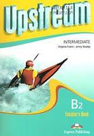Upstream b2 intermediate tb  teachers book для учебника зелено-желтый
