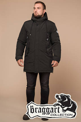 Удлиненная мужская зимняя куртка Braggart (р. 46-56) арт. 19058S, фото 2